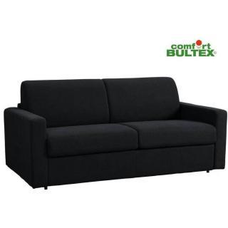 Canapé NIGHT BULTEX convertible ouverture RAPIDO 140*14*200cm polyuréthane noir