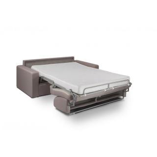 Canapé convertible NIGHT rapido 120 cm matelas 14 cm gris silver