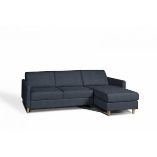 Canapé d'angle NORDIC convertible EXPRESS couchage quotidien 14cm