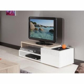 Meubles tv meubles et rangements inside75 - Petit meuble laque blanc ...