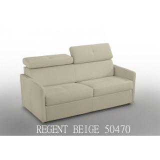 Canapé lit  PARIS COUCHAGE OUVERTURE RAPIDO 140cm Cuir beige