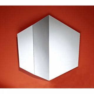 Miroirs meubles et rangements patti miroir mural design for Meuble mural en verre