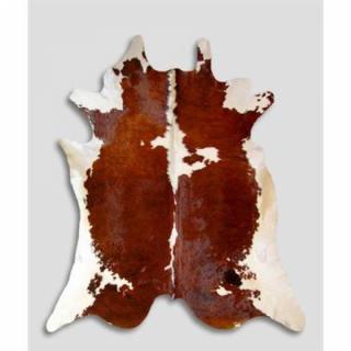 Tapis de peau de vache naturelle type normande