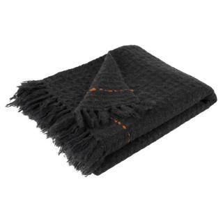 Plaid ZUIVER MIMOSA tricote gris