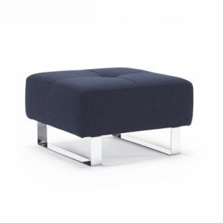 Pouf design CASSIUS DELUXE EXCESS 65*65 cm tissu Mixed Dance_Blue