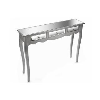 ROMA Console design en bois 3 tiroirs