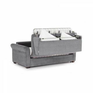Canapé lit 3-4 places ROMANTICO convertible EXPRESS sommier lattes 160*197 cm matelas 16 cm