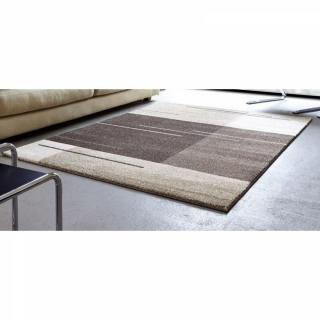 SAMOA DESIGN Tapis patchwork taupe  160x230 cm