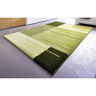 SAMOA DESIGN Tapis patchwork vert - 160x230 cm