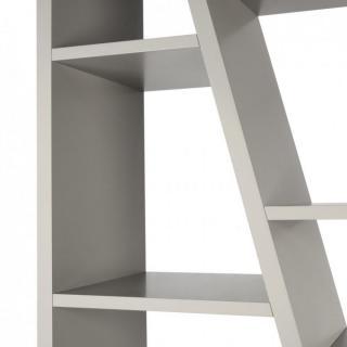 DELTA  3 bibliothèque étagère design grise mate.