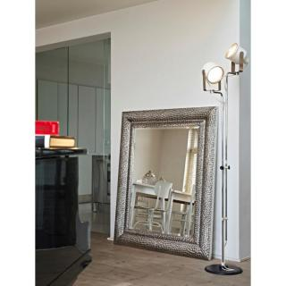 miroirs meubles et rangements sherwood miroir mural design en verre argent inside75. Black Bedroom Furniture Sets. Home Design Ideas