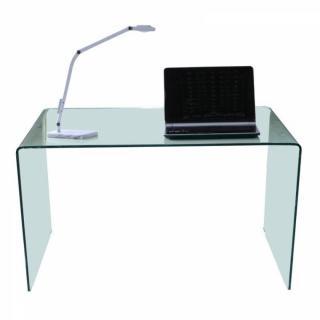 Bureaux meubles et rangements SIDE bureau en verre tremp