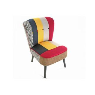 SOLID Fauteuil patchwork