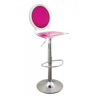 tabouret de bar design tendance retro au meilleur prix tabouret chaise de bar sixteen rose. Black Bedroom Furniture Sets. Home Design Ideas