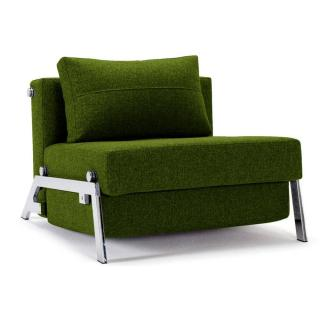 Fauteuil design SOFABED CUBED CHROME convertible lit 200*96 cm