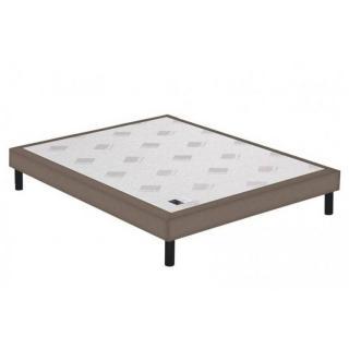 sommiers au meilleur prix sommier tapissier epeda multi ressorts enduit cappuccino 3 zones de. Black Bedroom Furniture Sets. Home Design Ideas