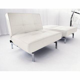 fauteuils convertibles convertibles innovation fauteuil lit design splitback blanc innovation. Black Bedroom Furniture Sets. Home Design Ideas