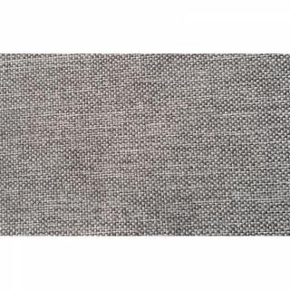 INNOVATION LIVING Meridienne design SPLITBACK gris (mix dance) convertible lit 100*200 cm piétement chromé