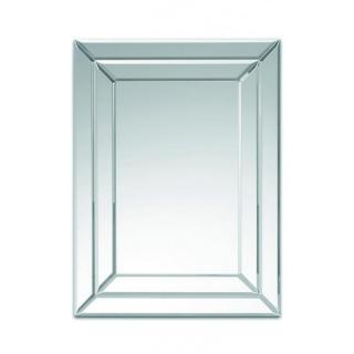 STRIPES miroir mural design en verre cadre large