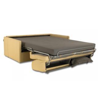 Canapé lit SUN convertible EXPRESS 140cm sommier lattes matelas 16cm