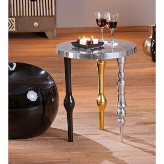 Table d'appoint MANGA en aluminium