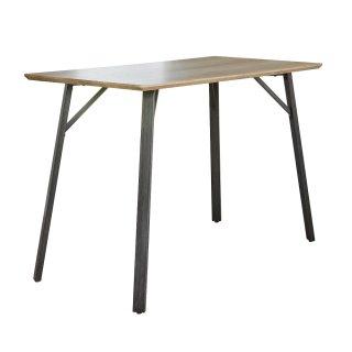 Table de bar RECTANGULAIRE design bois mdf