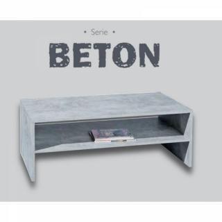 Table basse carr e ronde ou rectangulaire au meilleur for Table basse aspect beton