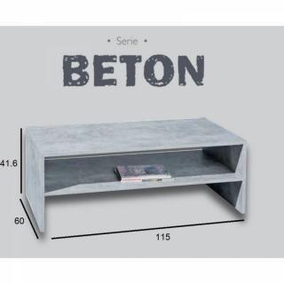 Table basse carr e ronde ou rectangulaire au meilleur - Table basse aspect beton ...