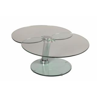 Table basse CLOVER en verre