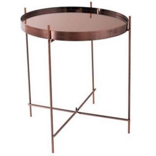 ZUIVER Table basse CUPID en cuivre  43 x 45 cm