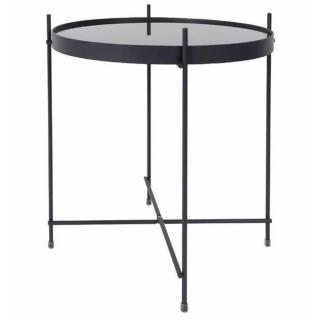 ZUIVER Table basse CUPID  acier noir  43 x 45 cm