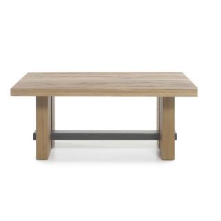 Table basse ARGENTEUIL 120*75cm plateau en chêne
