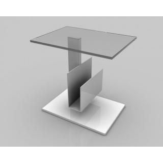 Table basse THUNDRA  plateau en verre