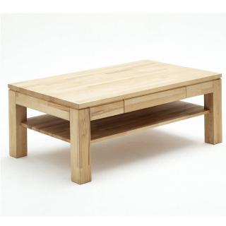 Table basse JUVISY 115 x 70 cm en hêtre massif ciré et huilé