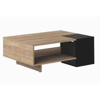 Table basse design scandinave DAINN noire