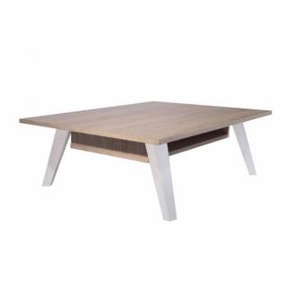 Table basse design scandinave SQUARE une allonge