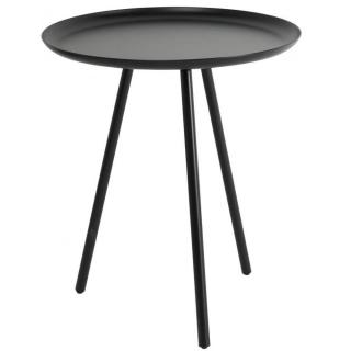Table basse design SILKEBORG métal noir