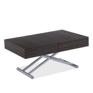 Table relevable extensible HARIE mélaminée wengé