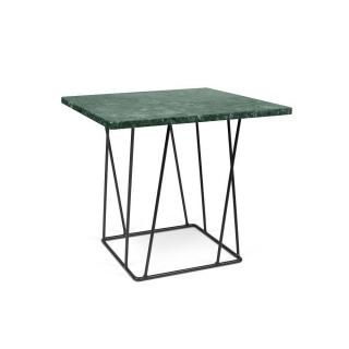 Table basse HELIX 50 en marbre vert