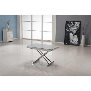 Table relevable design ou classique au meilleur prix table basse jump extensible relevable - Table basse relevable grise ...