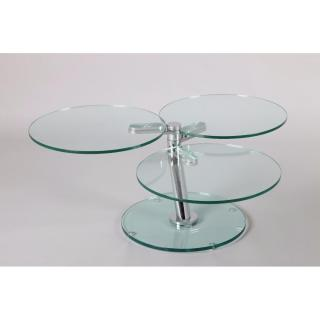 Table basse NEMESIS en verre