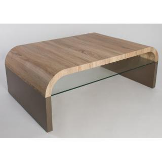 Table basse design OMAHA taupe