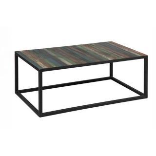 Table basse RECOVER en bois recyclés