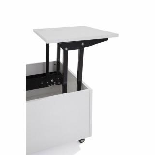 Canap convertible au meilleur prix table basse relevable - Table basse blanche relevable ...