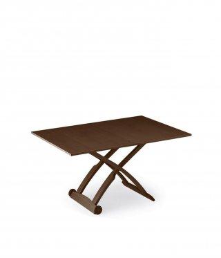 Table basse relevable extensible italienne MASCOTTE  wengé