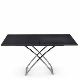 Table basse relevable extensible italienne MAGIC J graphite