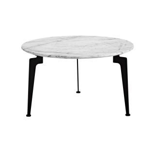 INNOVATION LIVING  Table basse design scandinave LASER taille L plateau en marbre