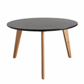 INNOVATION LIVING  Table basse design scandinave NORDIC taille L coloris chêne wengé