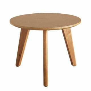 INNOVATION LIVING  Table basse design scandinave NORDIC taille M coloris chêne clair