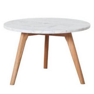 ZUIVER Table basse  STONE petit modèle en marbre.